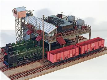 Estacade à charbon - Montluçon