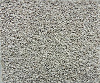 Ballast grain médium gris
