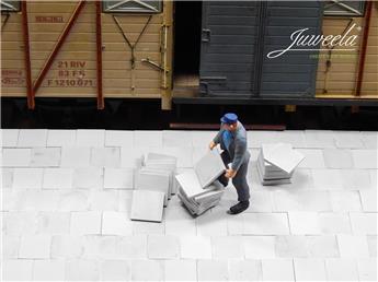 Pavés / Dalles de trottoir gris clair (0)