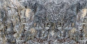 Feuille de décor roche Gufo