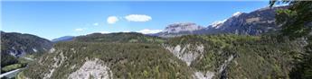 Fond de décor Alpes