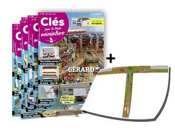 """Les Lots """"Clés"""" : 6 numéros + le plan du réseau"""