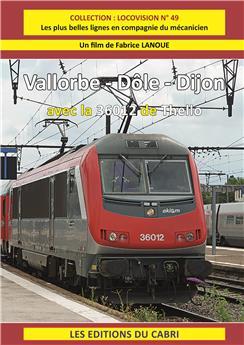 Vallorbe - Dole - Dijon avec la 36012 de Thello