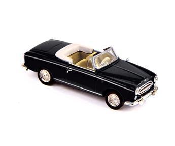 Véhicule Peugeot 403 cabriolet 1957 - Noir