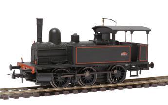 Locomotive à vapeur 030T livrée noire à filets rouges 303T Epoque III