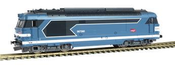 Locomotive Diesel BB67400 Carmillon