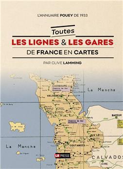 Toutes les lignes et les gares de France en cartes