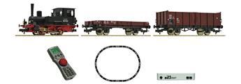 Coffret de départ numérique, locomotive série 98.75 avec train de marchandises de la DB