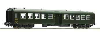 Voiture passagers 2ème classe 50 87 20-47 663-1 SNCF époque IV