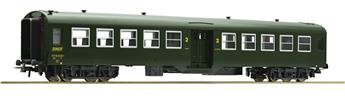 Voiture voyageurs 2ème classe 50 87 20-47636-7 SNCF époque IV