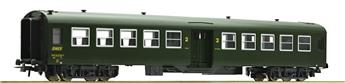 Voiture voyageurs 2ème classe 50 87 20-47-655-7 SNCF époque IV