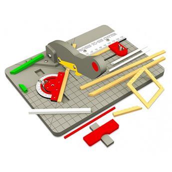 Table de coupe pour profilés bois et plastique