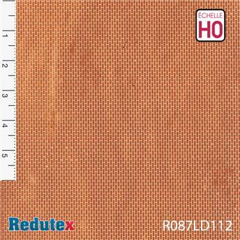 Briques régulières rouges