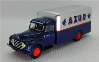 Camion Citroen 55 fourgon déco Azur Desmarais Frères
