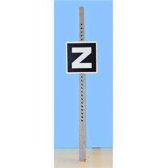 Panneau de signalisation fixe : début de zone de ralentissement