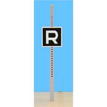 Panneau de signalisation fixe : fin de zone de vitesse limitée