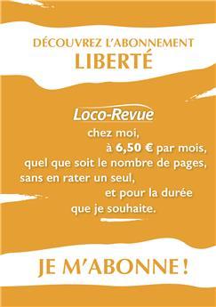 Abonnement Loco-Revue FRANCE PRELEVEMENT 12 FOIS