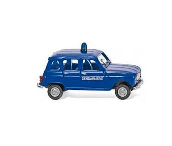 Véhicule Renault 4L Gendarmerie