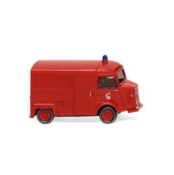 Véhicule fourgon de pompier 18 Citroën HY
