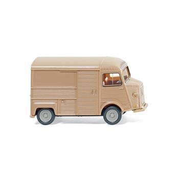 Véhicule fourgon Citroën HY - brun clair