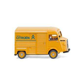 Véhicule fourgon Citroën HY - Service Citroën - jaune