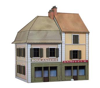 Maisons de ville / commerces boulangerie et coiffeur