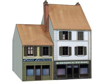 Maisons de ville / commerces petite épicerie et charcuterie