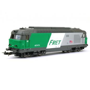 Locomotive diesel BB67400 fret