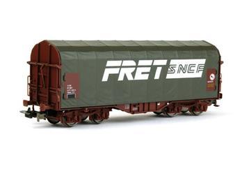 Wagon bâché SNCF