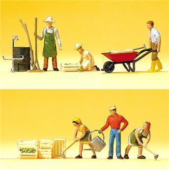 Jardiniers et accessoires - H0 - Preiser