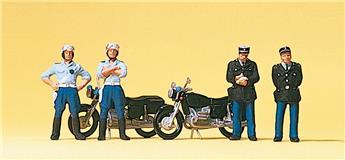 Gendarmerie - H0 - Preiser