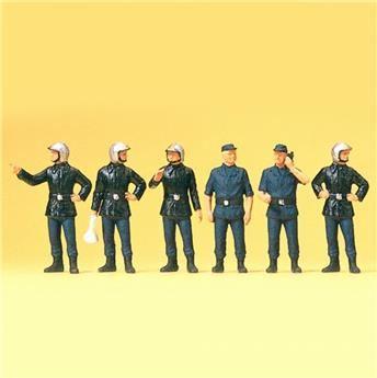 Pompiers - H0 - Preiser