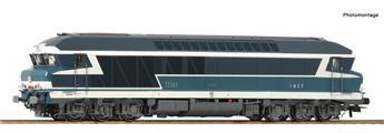Locomotive CC 72000 SNCF analogique