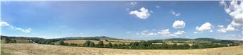 Fond de décor panoramique - Chaume