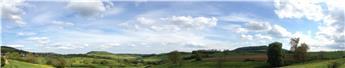 Fond de décor panoramique - Pâturage