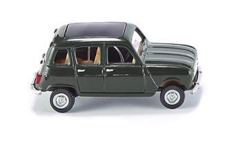 Véhicule Renault 4L - vert foncé
