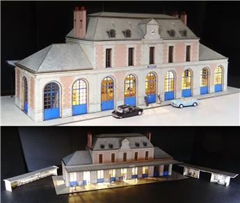 Gare de Figeac BV + 2 abris de quai