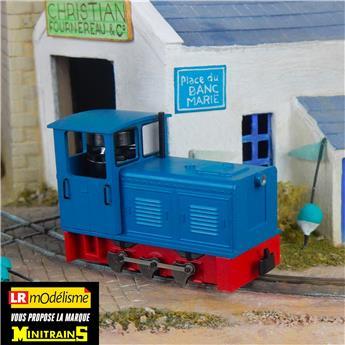 Locotracteur Diesel à bielles Ns2f bleu
