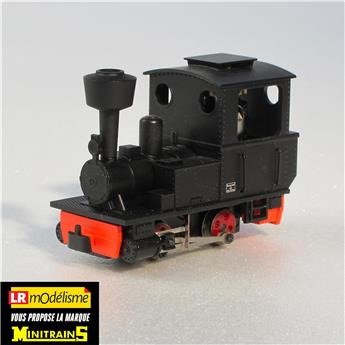 Locomotive à vapeur Orenstein et Koppel, avec cheminée pare-escarbilles