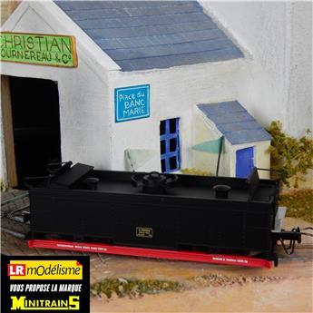 Réservoir à eau des chemins de fer de campagne, version musée de Francfort, assorti à la locomotive de brigade réf. 1021
