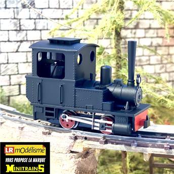 Locomotive à vapeur Orenstein et Koppel, avec cheminée droite