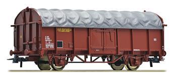 Wagon à bâche coulissante SNCF
