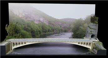 Article HSLR71 Pont droit - Fichiers 3D téléchargeables