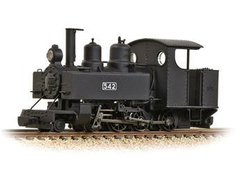 Locomotive Baldwin class 230 T 10-12-D - livrée militaire noire