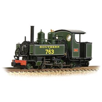 Locomotive Baldwin class 230 T 10-12-D Tank E763 SID SR Maunsell verte à filets blancs
