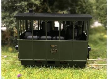 Locomotive à vapeur Henschel pour tramway version Gossel