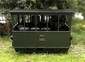 Locomotive à vapeur Henschel pour tramway version Gooische Stoomtram