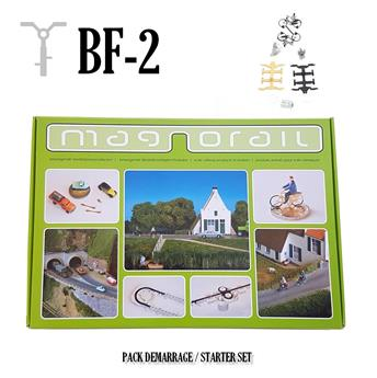 Pack complet Magnorail + 2 cyclistes