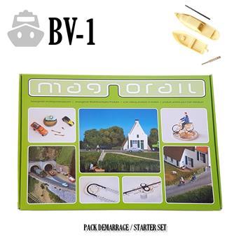 Pack complet Magnorail + 2 bateaux