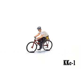 Cycliste homme VTT prêt à rouler Magnorail